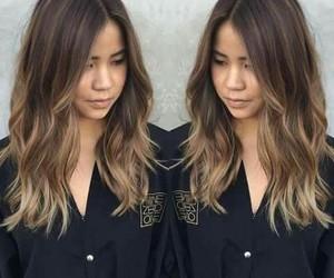 brownie, hair, and balayage image