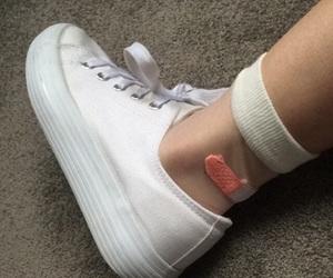 fashion, foot, and leg image