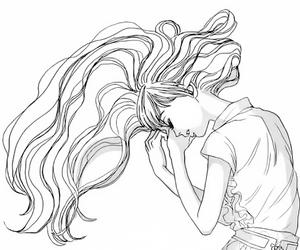 manga, manga girl, and oboreru knife image
