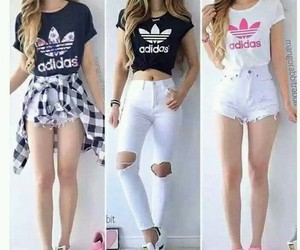 adidas, dress, and fashion image