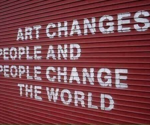 art, humanity, and quote image