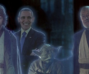 star wars, yoda, and Anakin Skywalker image