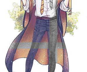 anime, harry potter, and haikyuu image