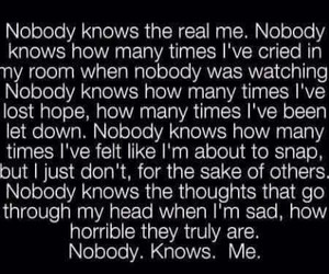 quotes, sad, and me image