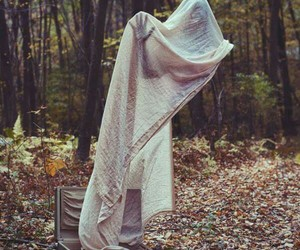 ghost, forest, and photography image