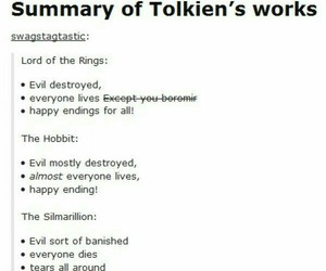 the hobbit, the lord of the rings, and the silmarillion image
