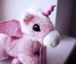 unicorn, pink, and cute image