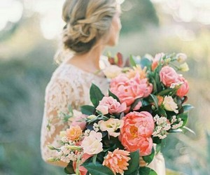 bride, lace, and rustic image