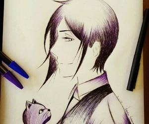 anime, black butler, and drawing image