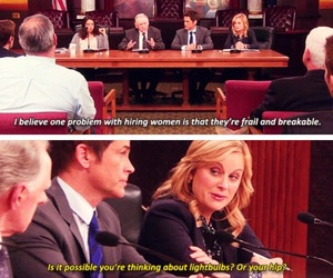 funny and parks and recreation image