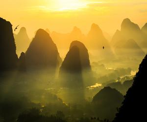 asia, china, and green image