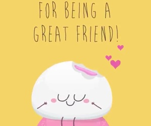 friendship, mochi, and cute image