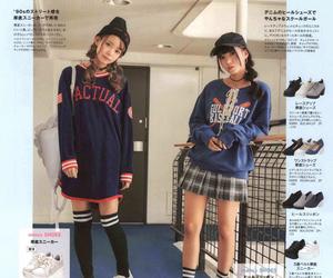 fashion, Harajuku, and popteen image