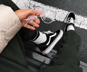 vans, fashion, and style image