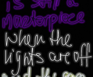dark, quote, and ♥ image