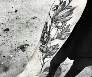 ink, tatoo, and tattoo image
