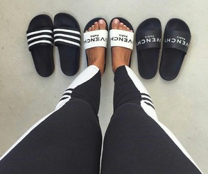 shoes, Givenchy, and slides image