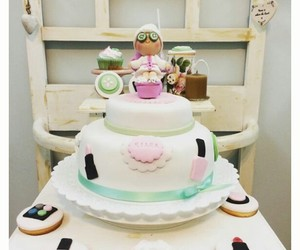 cake, torta, and cakes image