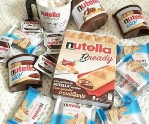 nutella, yummi, and i love nutella image
