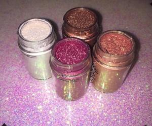 glitter, makeup, and fashion image