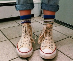 converse, shoes, and grunge image