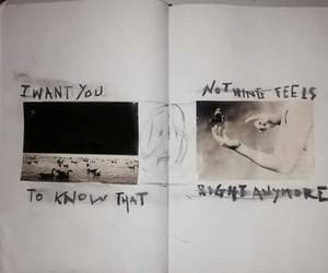 quotes, art, and sad image