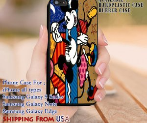 cartoon, mickey mouse, and iphone5 image