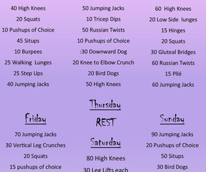 fitness, healthy, and lifestyle image