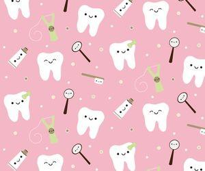 kawaii, pink, and dentistry image
