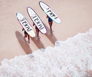 beach, vogue, and surf image