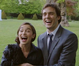 sam claflin, emilia clarke, and me before you image