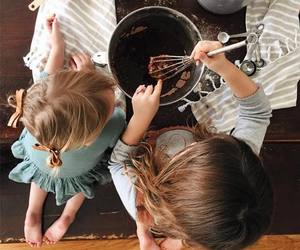 child, kids, and cook image