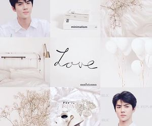 white, aesthetic, and exo image