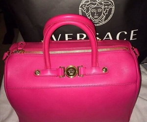 Versace, bag, and pink image