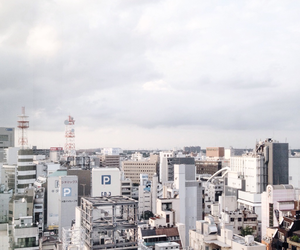 city, japan, and pastel image