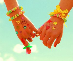 friends, hands, and friendship image