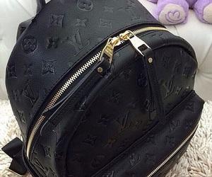 black, Louis Vuitton, and bag image