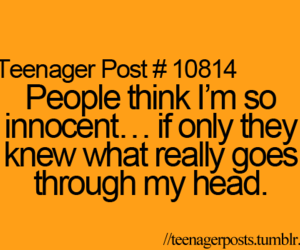 teenager post, innocent, and quote image