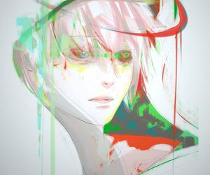 anime, ghoul, and manga boy image