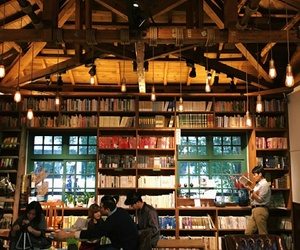 books and cafe image
