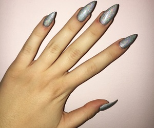 beauty, nails, and long image