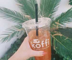 coffee, drink, and koffi image