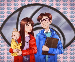 A Series of Unfortunate Events, Violet Baudelaire, and asoue image