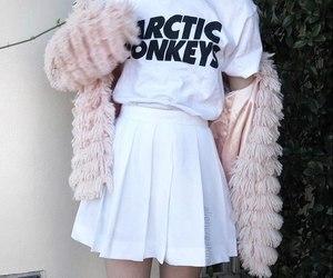 fashion, arctic monkeys, and white image