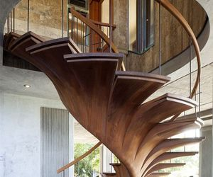 stairs, design, and house image