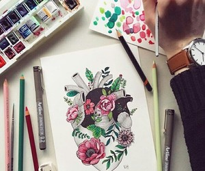 art, artist, and creative image