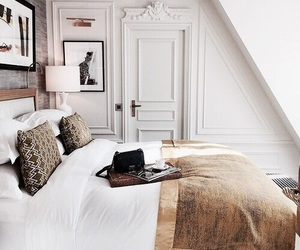 home, interior, and bedroom image