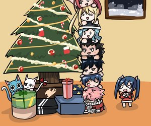 83 Images About Fairy Tail Christmas On We Heart It See More About