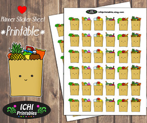 etsy, functional stickers, and groceries image