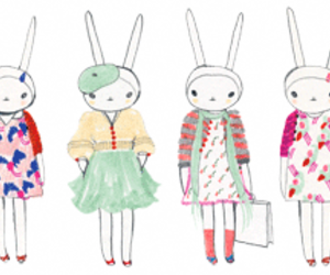 fashion, fifi lapin, and bunny image